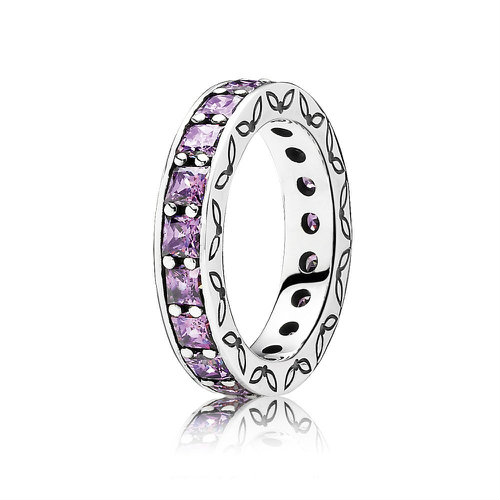2018 Pcall ora Purple Eternity Ring 190894CFP